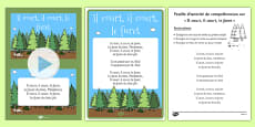 Il Court, Il Court, Le Furet Nursery Rhyme Pack French