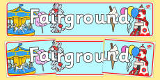 The Fairground Role Play Banner