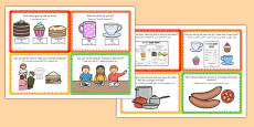 Cafe Role Play Challenge Cards Arabic Translation
