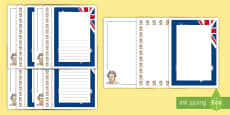 The Queen's Birthday Page Border Pack