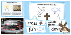 Christian Signs and Symbols Lesson Teaching Pack