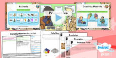PlanIt - Science Year 1 - Everyday Materials Lesson 3: Properties Lesson Pack