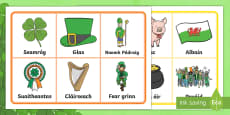 St. Patrick's Day Bingo Gaeilge