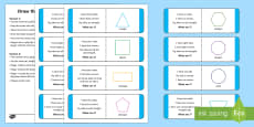 * NEW * Draw The Shape Game