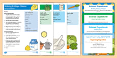 EYFS On the Farm Science Experiments Resource Pack