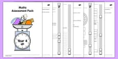 Year 4 Maths Assessment Pack Term 3
