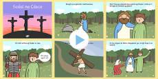 The Easter Story PowerPoint Irish Gaeilge
