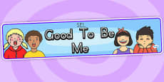 Good To Be Me Display Banner SEL