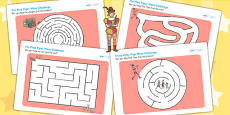 The Pied Piper Differentiated Maze Activity Sheet Pack