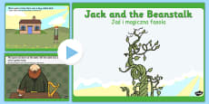 Jack and the Beanstalk Story PowerPoint Polish Translation