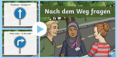 Directions PowerPoint German