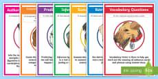 * NEW * SATs Survival Year 6: Reading Skills Display Posters