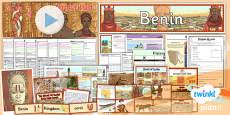 PlanIt - History UKS2 - Benin Unit Pack