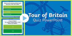 Tour of Britain Quiz PowerPoint