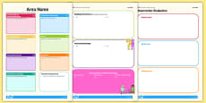 EYFS Editable Continuous Provision Plan
