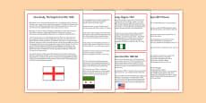 Civil War Case Studies