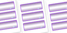 Lynx - Star Constellation Themed Editable Drawer-Peg-Name Labels (Colourful)