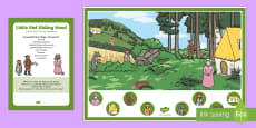 EYFS Little Red Riding Hood Can You Find...? Poster and Prompt Card Pack