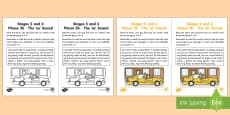 Northern Ireland Linguistic Phonics Stage 5 and 6 Phase 3b, 'ee' Sound Activity Sheet