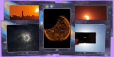 Solar Eclipse Display Photos