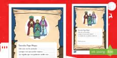 Ficha de actividad: Carta a los Reyes Magos