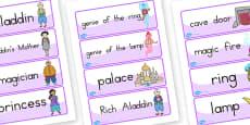 Aladdin Word Cards (Australia)