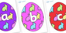 Phoneme Set on Easter Eggs (Rabbit)