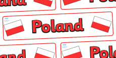 Poland Display Banner