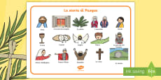 * NEW * La storia di Pasqua Vocabolario Illustrato