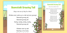 Beanstalk Growing Tall Song