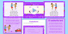 El cocherito Spanish Nursery Rhymes Resource Pack