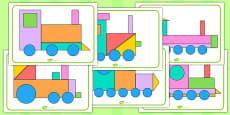 Shape Train Picture Pack