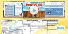 PlanIt - History UKS2 - Early Islamic Civilisation Lesson 3: Discovery and Learning Lesson Pack