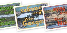 Rivers Table Group Signs