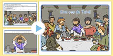 The Last Supper Story PowerPoint Romanian