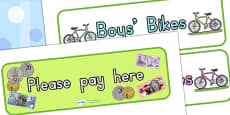 Australia - Bicycle Shop Display Signs