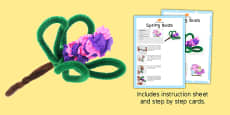 Spring Buds Craft Instructions