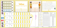 Yellow Sight Words Resource Pack