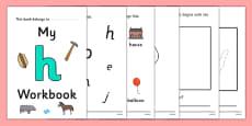 My 'h' Workbook