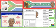 Nelson Mandela Resource Pack KS1