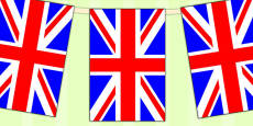 United Kingdom Flag Display Bunting
