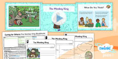 PlanIt - RE Year 1 - Caring for Others Lesson 6: The Monkey King (Buddhism) Lesson Pack