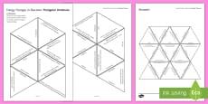 Energy Changes in Reactions Tarsia Triangular Dominoes