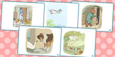 The Tale of Jemima Puddle Duck Short Story Sequencing (Beatrix Potter)