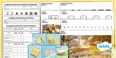 PlanIt - Intervention EAL - Basic Skills - Language Assessment for Older Children