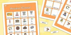Ancient Greece Vocabulary Matching Mat
