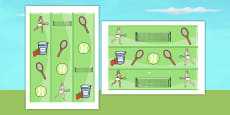Wimbledon Display Borders