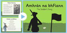 Amhrán na bhFiann - Irish National Anthem Information PowerPoint