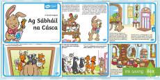 Saving Easter Story Gaeilge