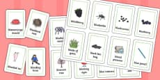 Three Syllable 'BL' Playing Cards